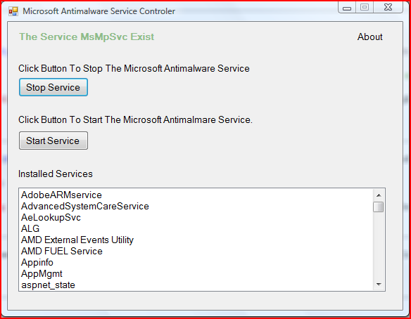 Using The Service Controller In Vb Net Pc S Xcetra Support