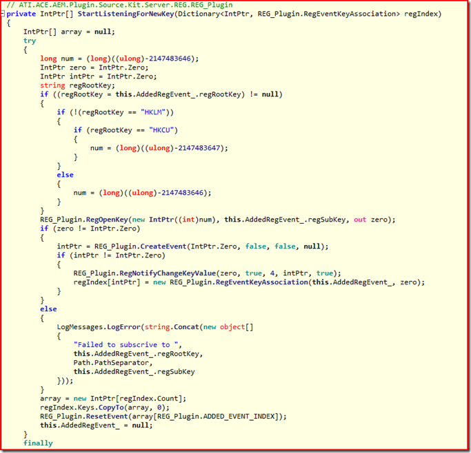 listingcode