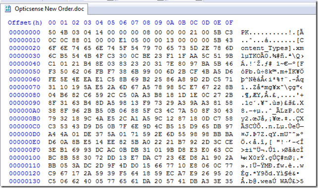 A look at Stomped VBA code and the P-Code in a Word Document